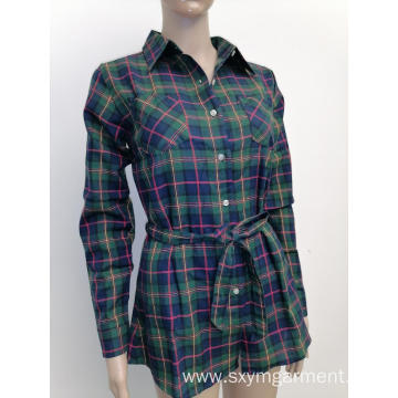 Top Quality Ladies cotton tunic in autumn